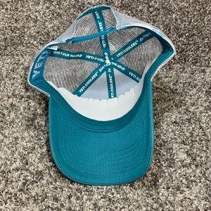 9f148300d08f1 Yeti Accessories - Yeti Coolers Teal Aqua Tarpon Trucker Hat